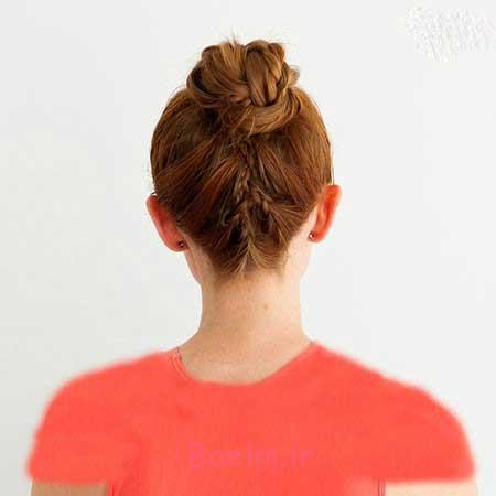 مدل های بستن مو برای خانم های شیک