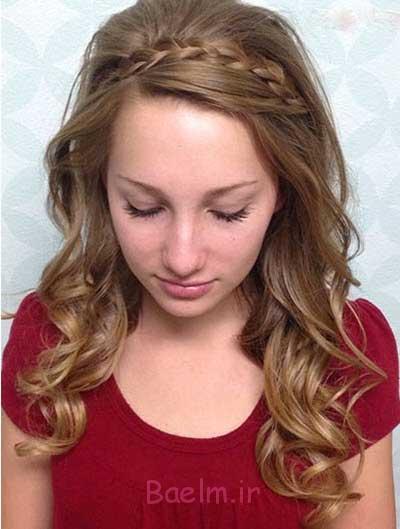 مدل موهای باز