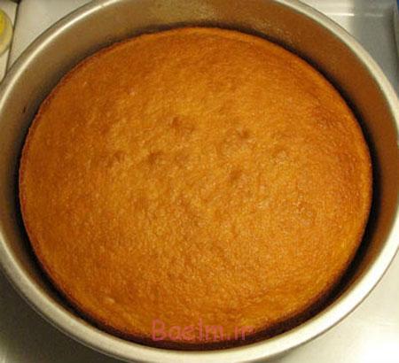 پخت کیک بدون فر, نحوه پخت کیک روی گاز