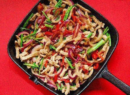 خوراک گوشت و رشته,طرز تهیه خوراک گوشت