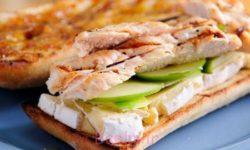 آموزش انواع ساندویچ خانگی   طرز تهیه ساندویچ مرغ مخصوص گردش