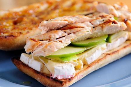 آموزش انواع ساندویچ خانگی | طرز تهیه ساندویچ مرغ مخصوص گردش