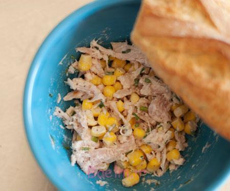 آموزش انواع ساندویچ | درست کردن ساندویچ تن ماهی مخصوص کودک