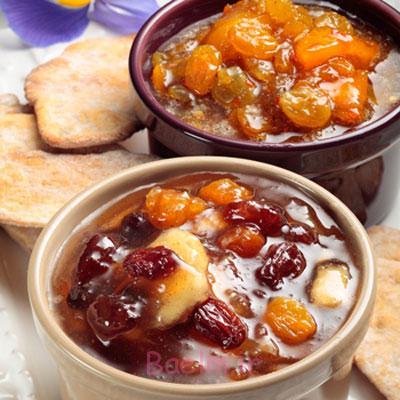 انواع پخت مربا سیب,درست کردن مربا سیب و کشمش
