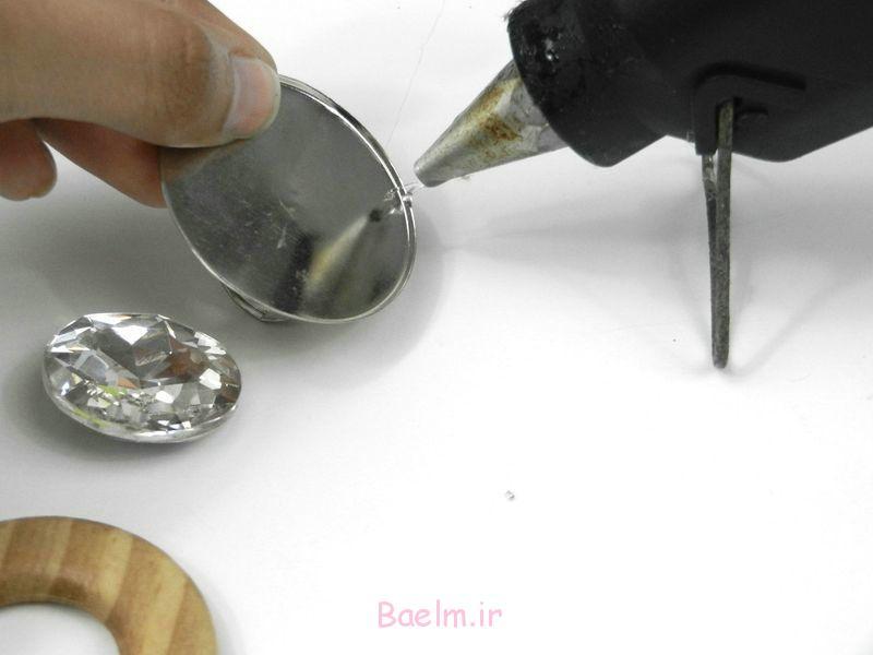 حلقه چوب دست ساز برای دختران -DIY آموزش (2)
