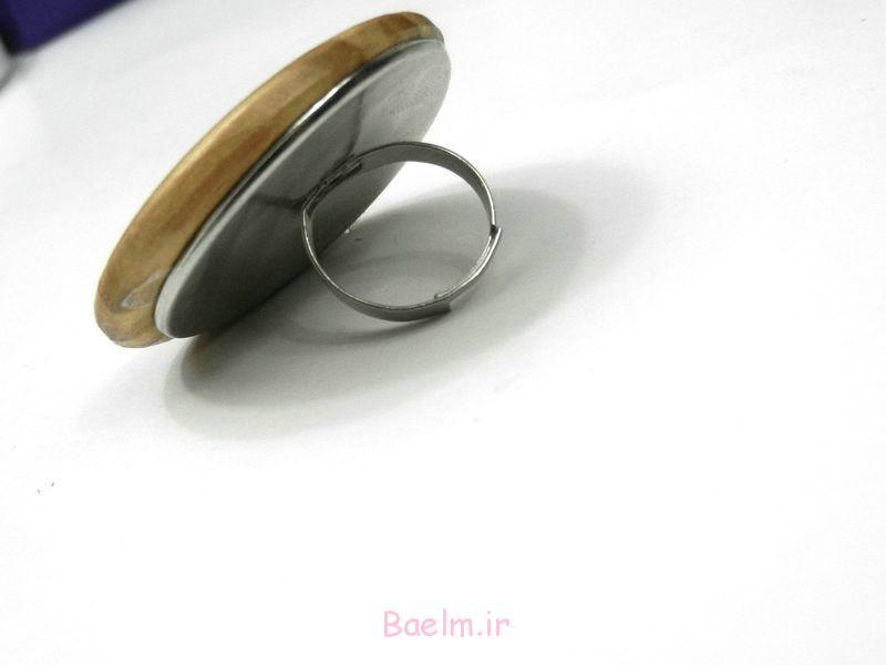 حلقه چوب دست ساز برای دختران -DIY آموزش (4)