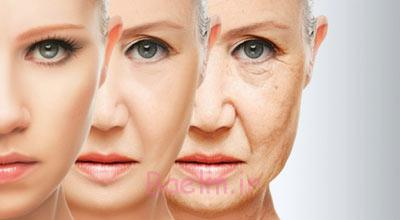 علت پیری زودرس,پیری زودرس,دلایل پیری زودرس در خانم ها