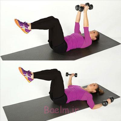 ورزش بانوان |6 تمرین برای تقویت عضلات بازو (+تصاویر)
