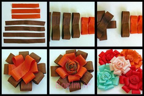درست کردن گل با روبان, آشنایی با درست کردن گل با روبان