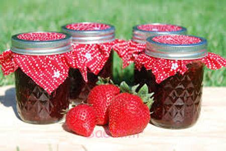 مربای توت فرنگی,طرز تهیه مربای توت فرنگی,مربا توت فرنگی