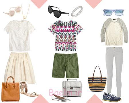 ست کردن لباس تابستانی زنانه,مدل های ست کردن لباس