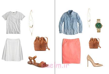 مدل ست لباس زنانه,نحوه ست کردن لباس تابستانی