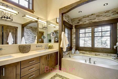 دکوراسیون حمام,طراحی حمام