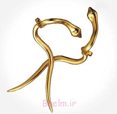 مدل گوشواره طلا,گوشواره زیبا با طرحی خلاقانه