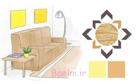 انتخاب بهترین رنگ اتاق خواب,آشنایی با فنگ شویی اتاق خواب