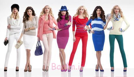 راهنمای انتخاب رنگ لباس و اصول ست کردن رنگ لباس ها