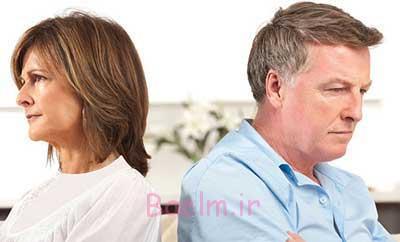 بعد از دعواهای زن و شوهر