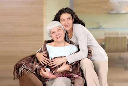 وابستگی همسر به مادر