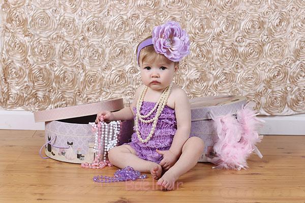 1 Baby girl Petti Romper design