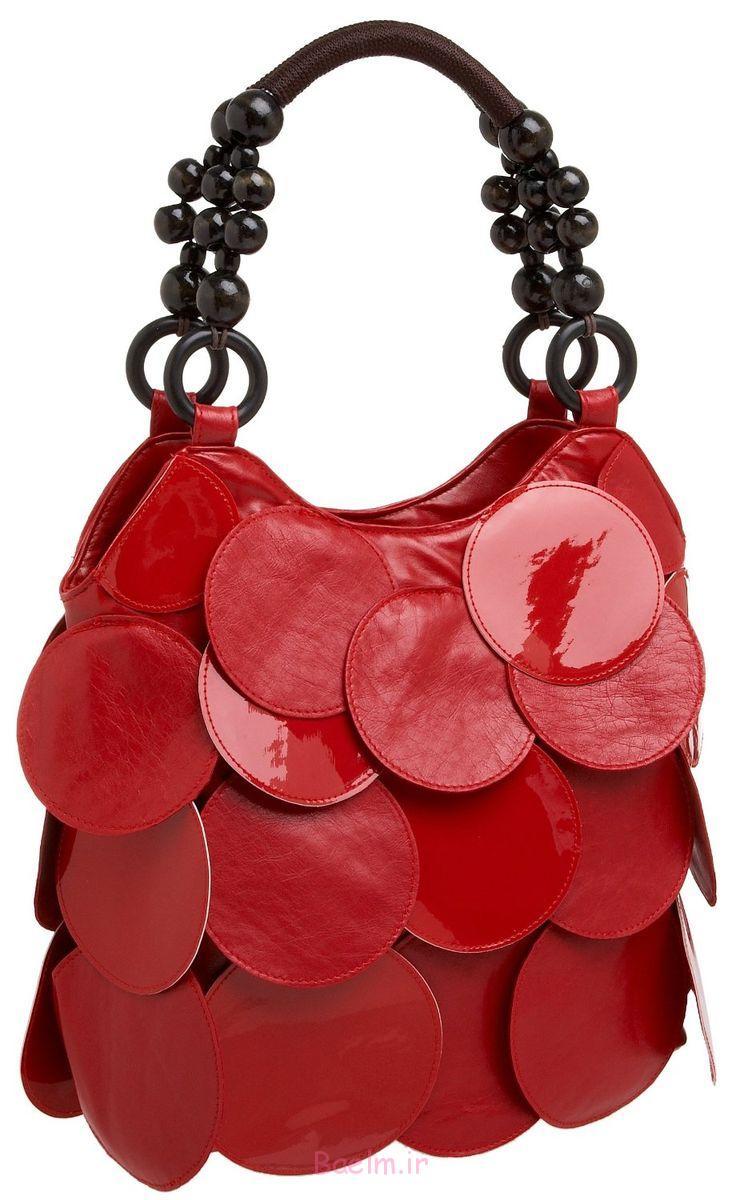 1 عالی مجموعه کیف های دستی قرمز برای دختران