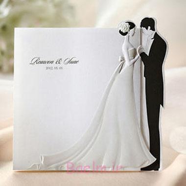 مدل های زیبای کارت دعوت عروسی