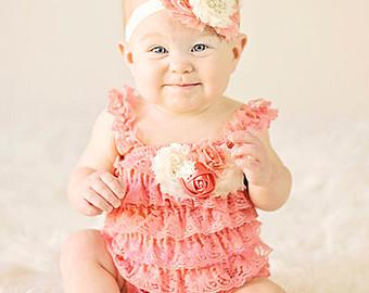 2 new design of Baby girl Petti Romper