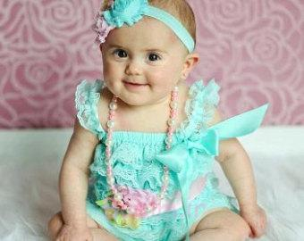 3 collection of Baby girl Petti Romper