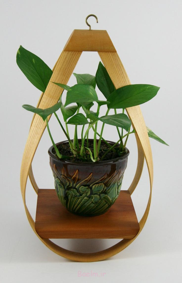 3 wonderful wood hanging planters