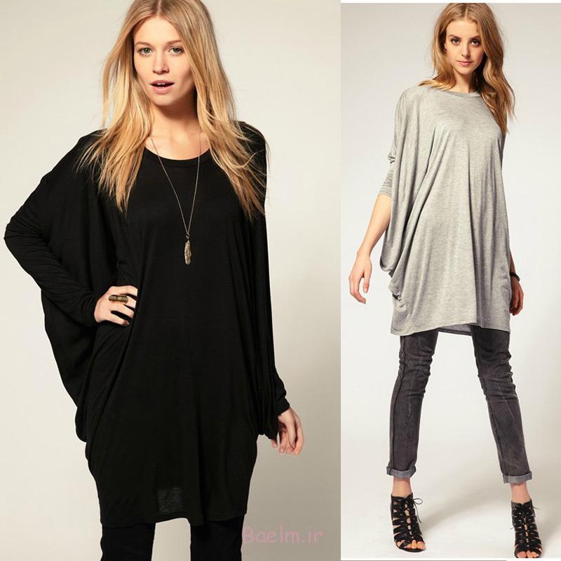 4 blavk & gray oversized cotton long blouse collection