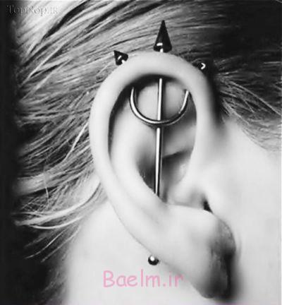 پیرسینگ گوش ( سوراخ کردن گوش ) ، میتواند باعث عفونت گردد