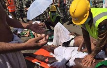 ۳۱۰ نفر  کشته به دلیل ازدحام جمعیت درمراسم رمی جمرات در منطقه منا