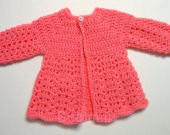 Best Crocheted Sweaters for Newborn Babies (10)