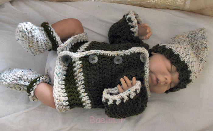 Best Crocheted Sweaters for Newborn Babies (12)