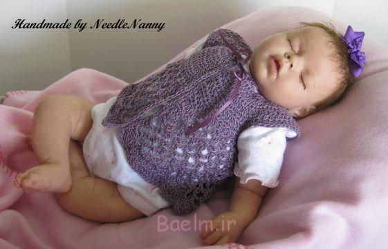 Best Crocheted Sweaters for Newborn Babies (16)