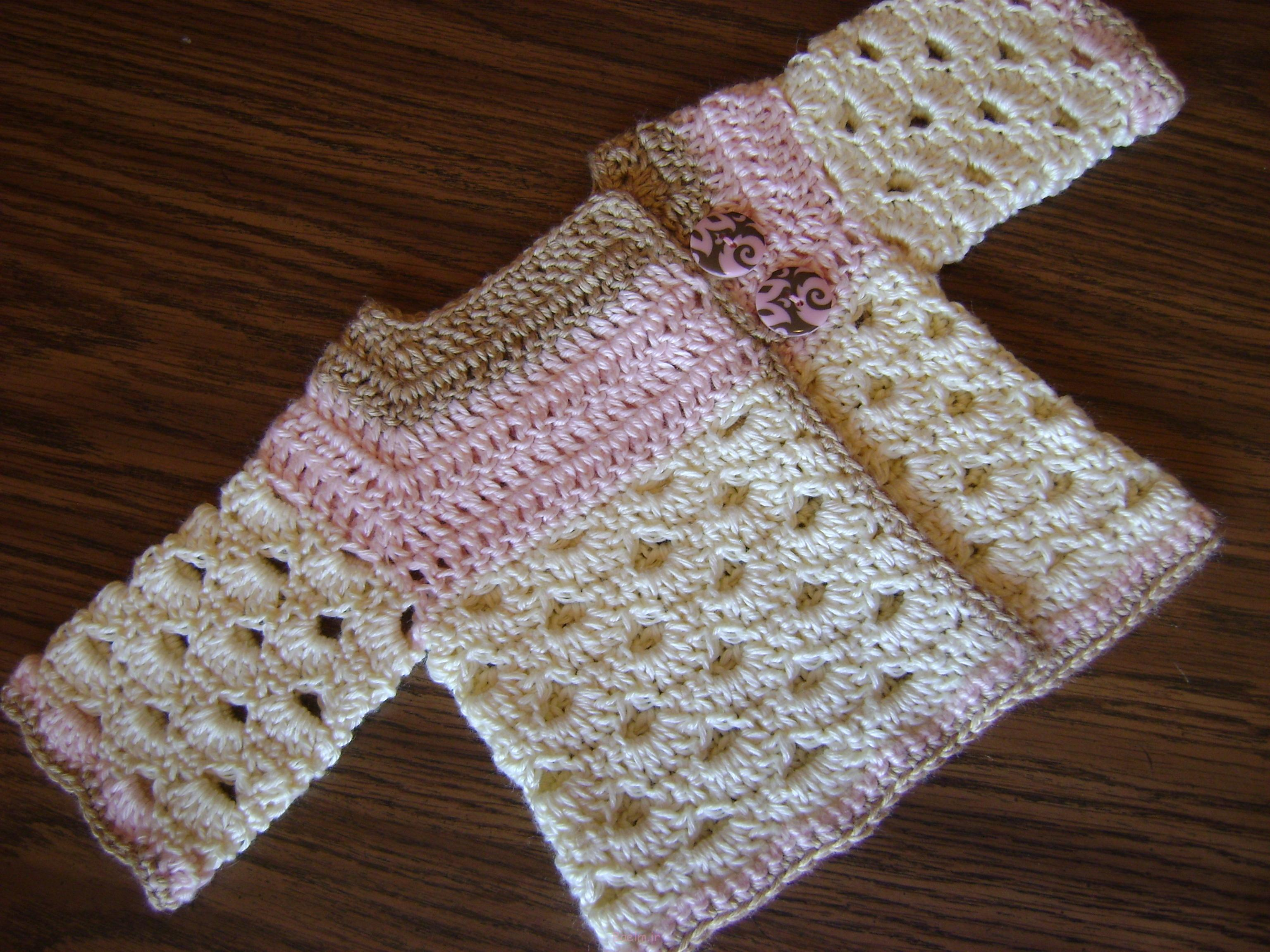 Best Crocheted Sweaters for Newborn Babies (3)