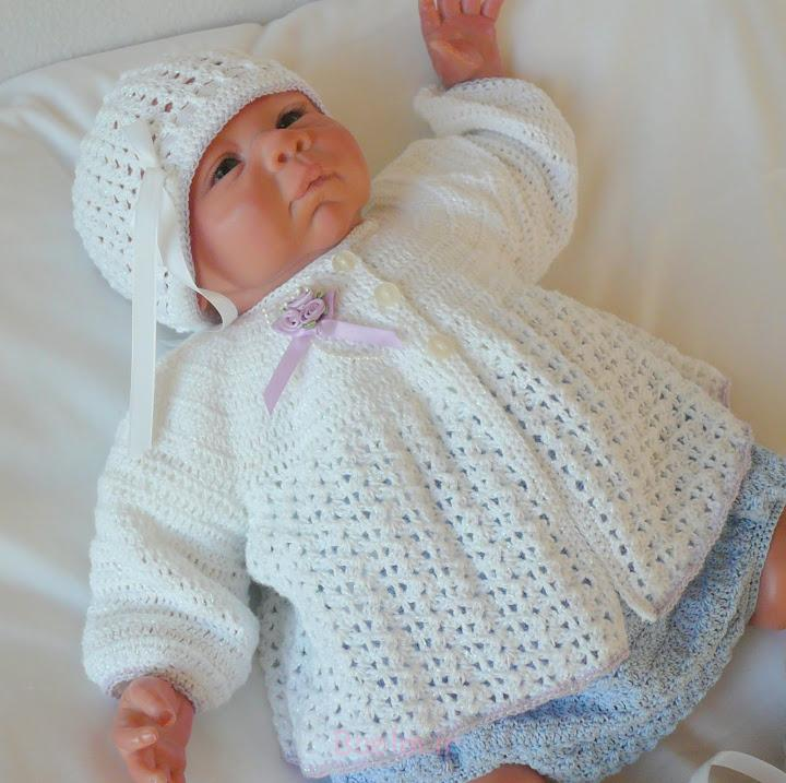 Best Crocheted Sweaters for Newborn Babies (9)