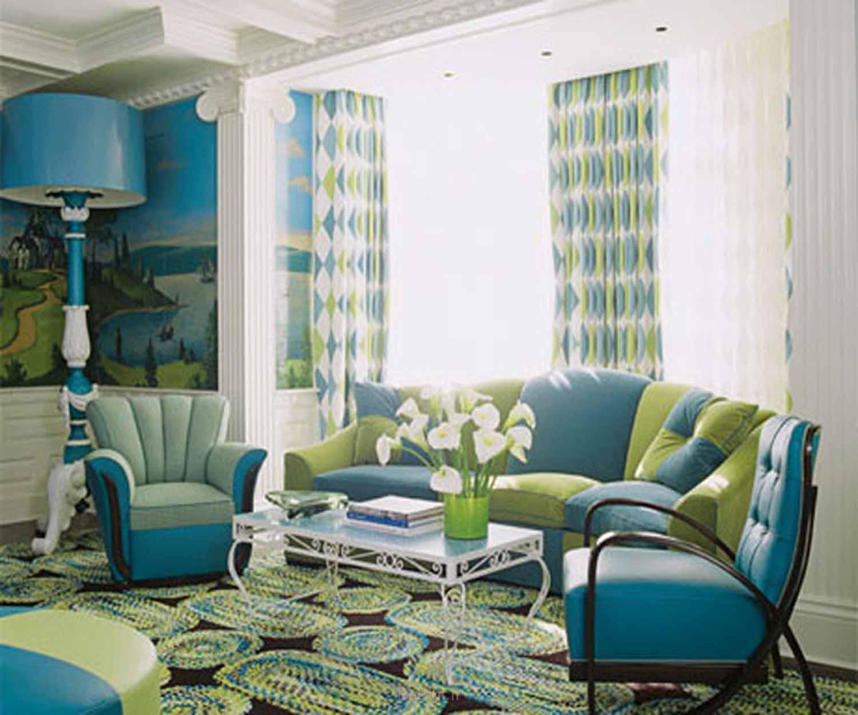 Simple Sitting Room Decoration 2014