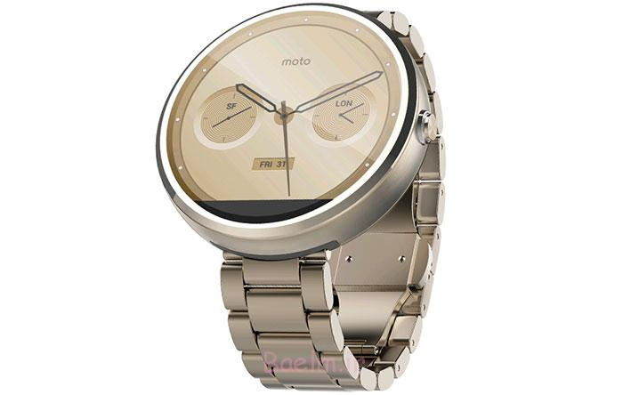 SmartWatch-Motorola-Moto360-Rose-Gold-Metal-18mm-Banda37ca9