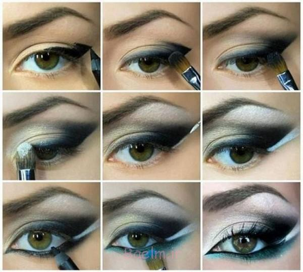Step by Step Smokey Brown Eyeshadow (10)