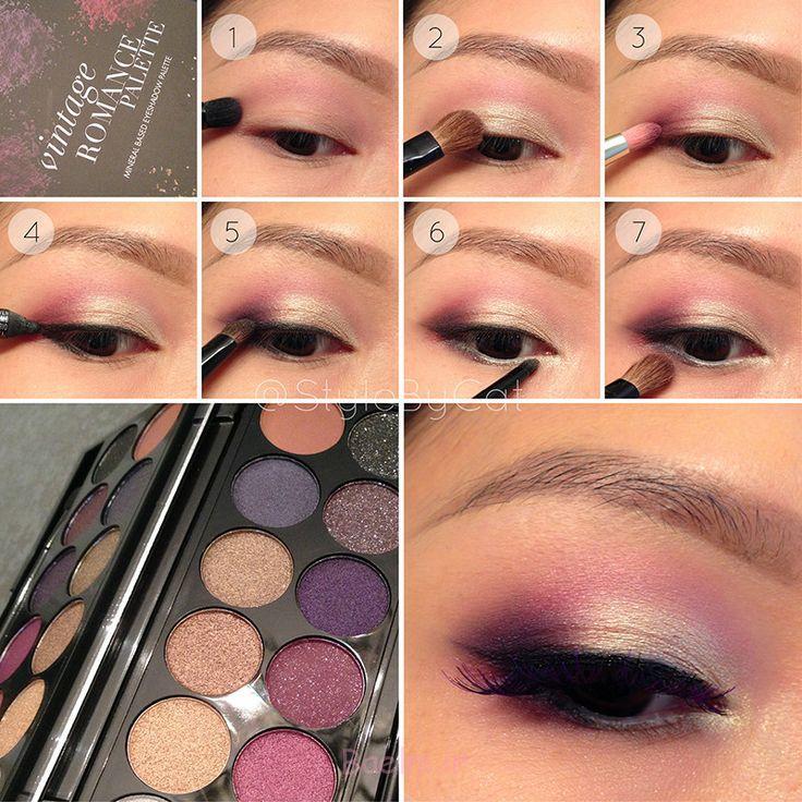 Step by Step Smokey Brown Eyeshadow (17)