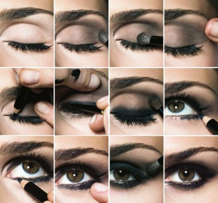 Step by Step Smokey Brown Eyeshadow (2)