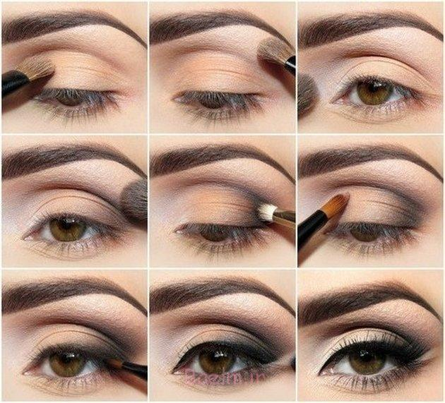 Step by Step Smokey Brown Eyeshadow (4)