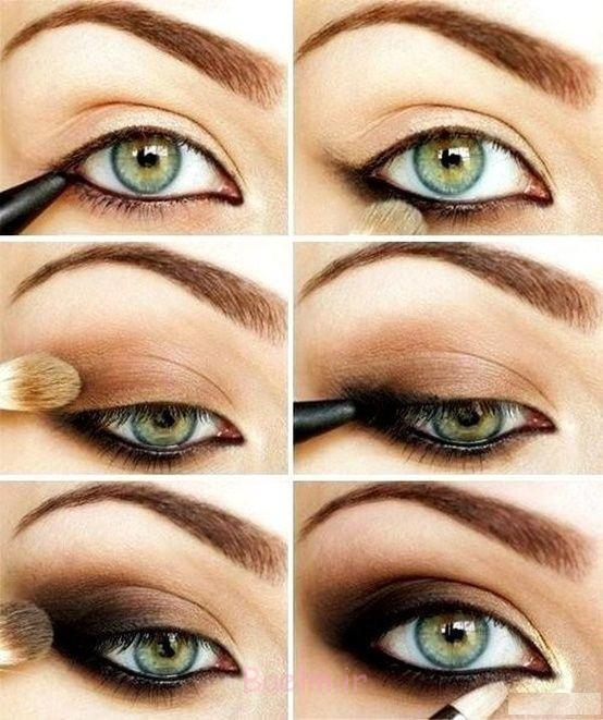 Step by Step Smokey Brown Eyeshadow (5)