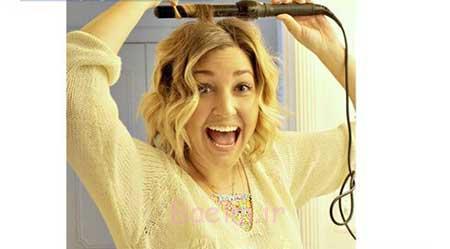 آموزش تصویری فر کردن مو با استفاده از اتوی مو