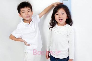 قد کودک یکساله,قد کودک دو ساله