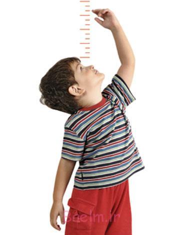 قد کودک,افزایش قد کودک