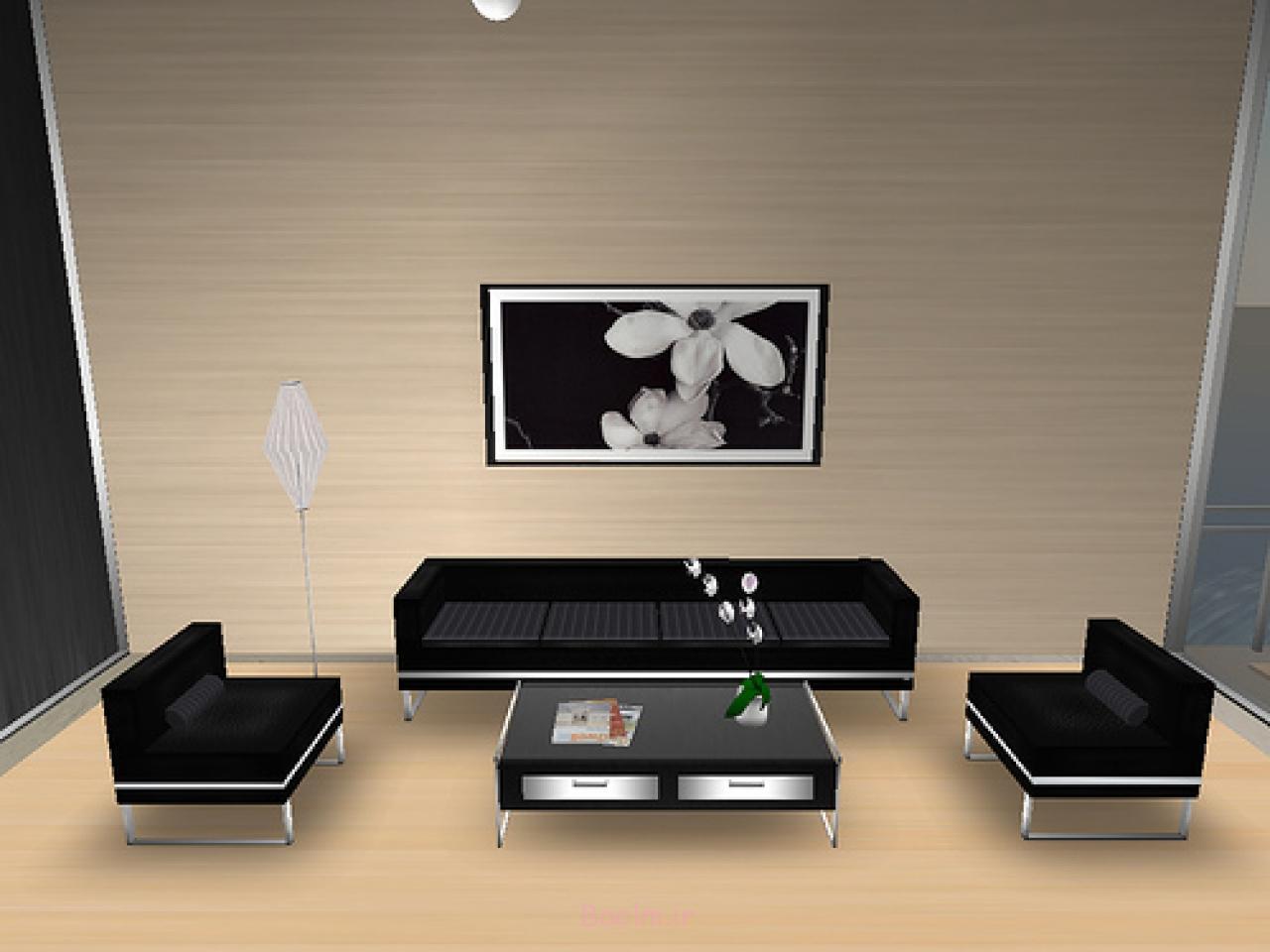 beautiful Simple Sitting Room Decoration