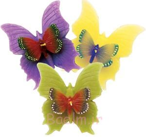 beautiful colors Floating Butterflies candles 2014