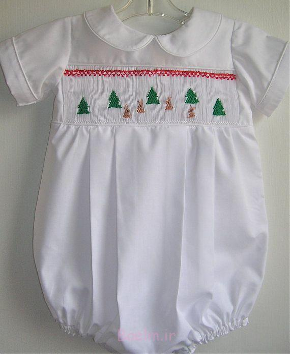 boy smocked romper collection (3)