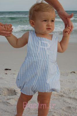 boy smocked romper collection (4)